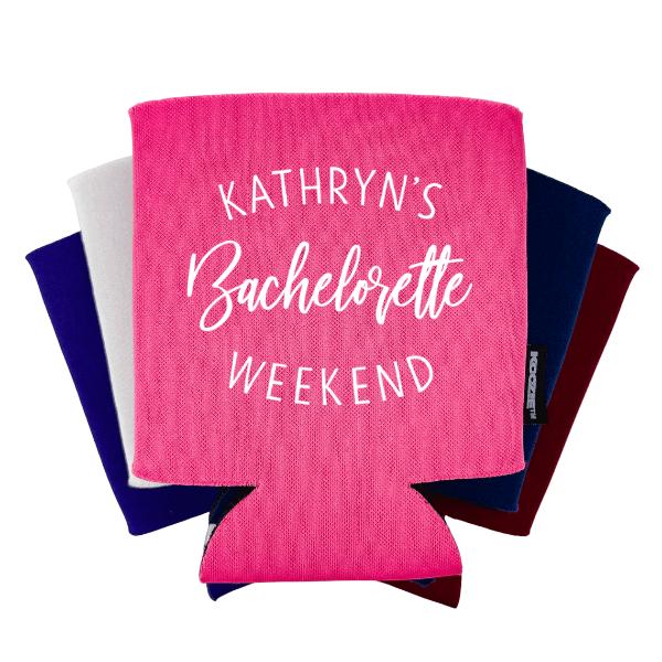 Custom Bachelorette Weekend Koozie®