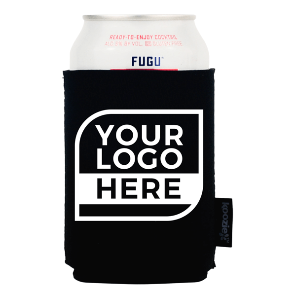 One Color Logo Koozie® 2-sided Neoprene Can Cooler