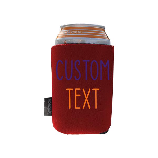 Koozie? Team Custom Foam Can Cooler |1 Side