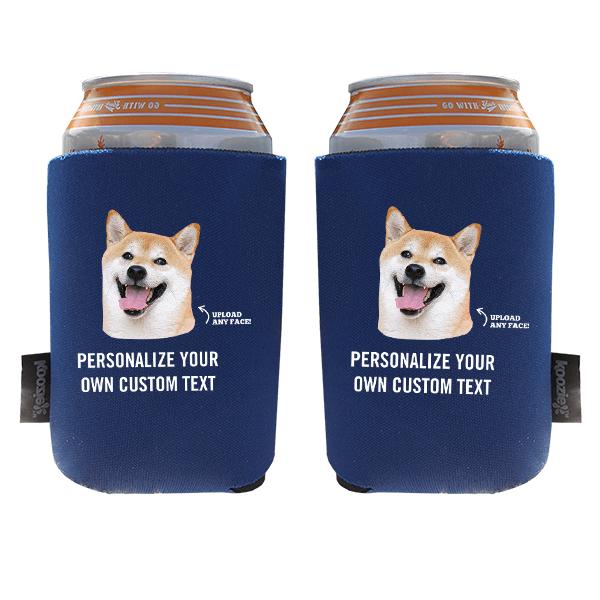 Koozie® Custom Photo Custom Face Foam Can Cooler | 2 Sides
