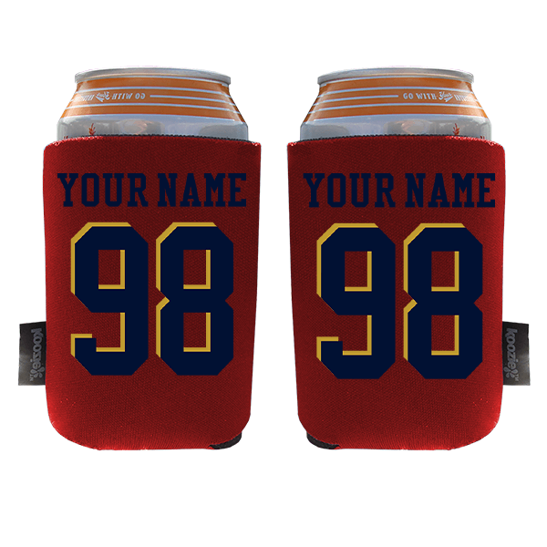 Koozie? Custom Name and Number Foam Can Cooler   2 Sides