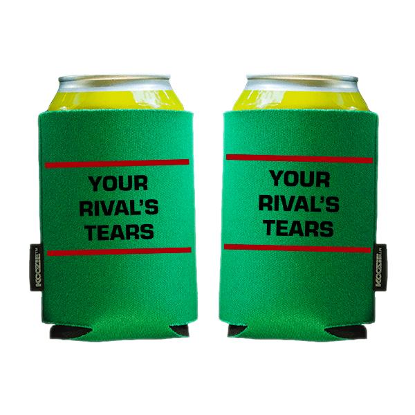 Koozie? Rivals Tears Foam Can Cooler | 2 Sides