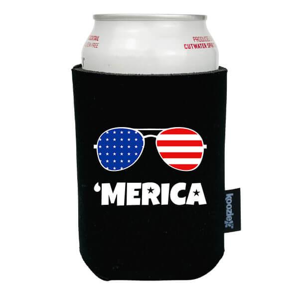 Koozie® America Sunglasses Patriotic Drink Cooler