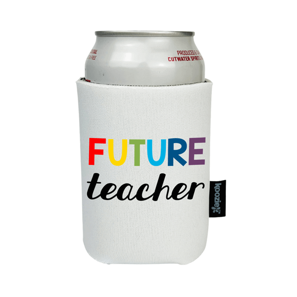 Koozie® Future Teacher Full Color Drink Cooler