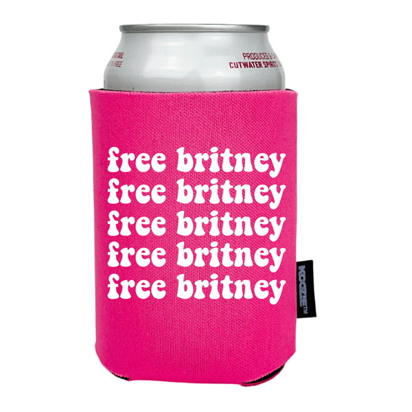 Koozie® Free Britney Pattern Drink Cooler