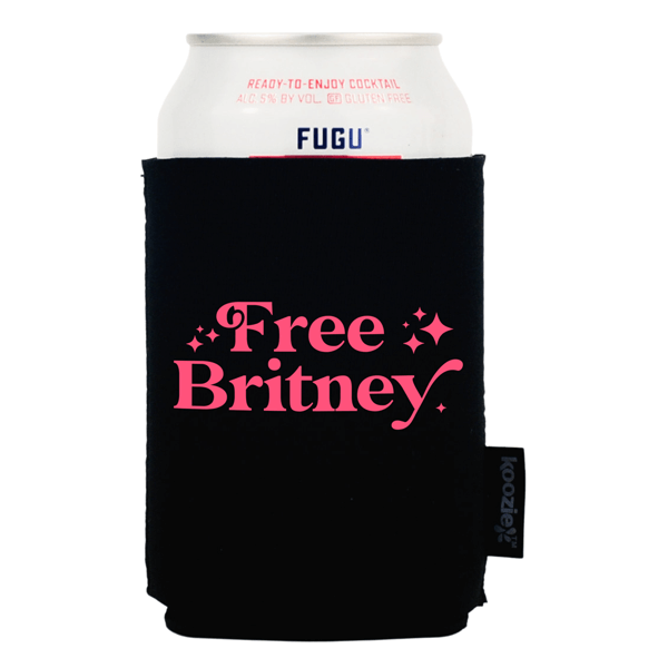 Koozie® Free Britney with Stars Drink Cooler