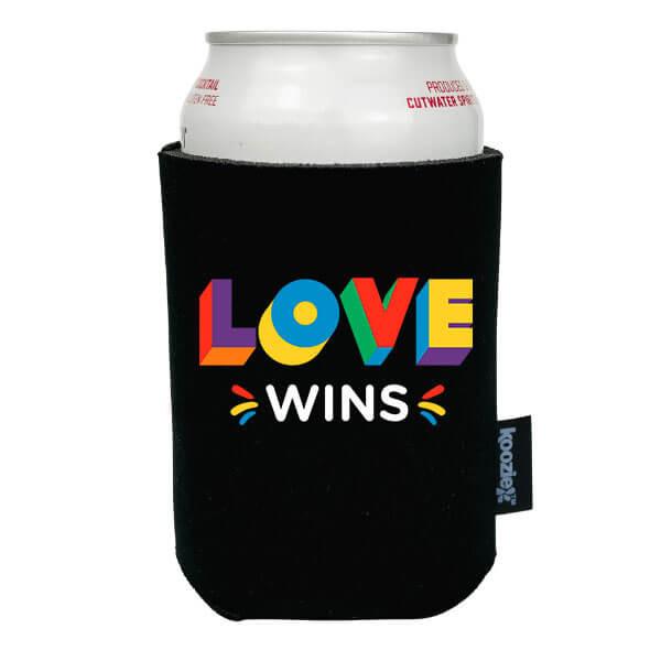 Koozie® Love Wins Pride Drink Cooler