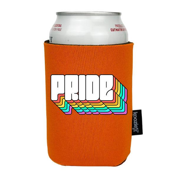 Koozie® Rainbow Shadow Pride Drink Cooler