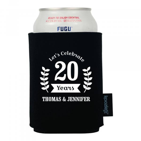 Koozie® Celebration Wreath Anniversary Drink Cooler