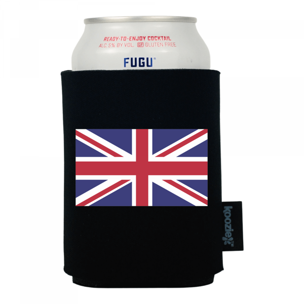 Koozie® Britain Country Flag Drink Cooler