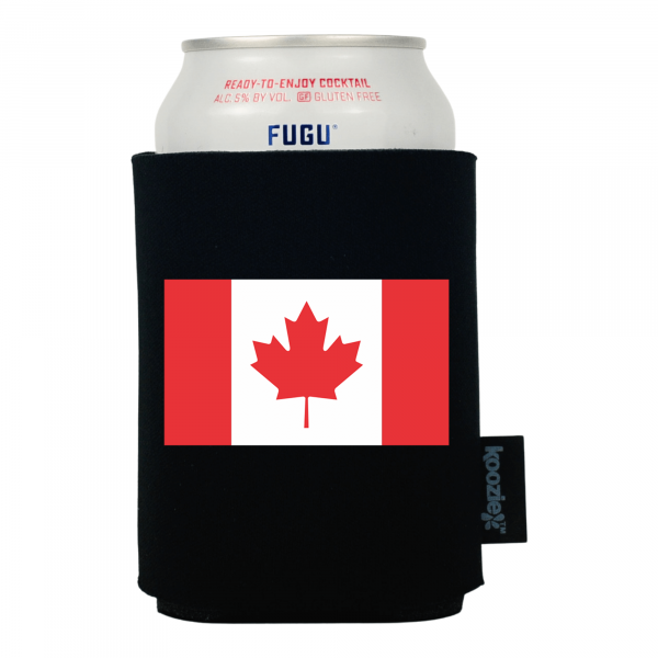 Koozie® Canada Country Flag Drink Cooler
