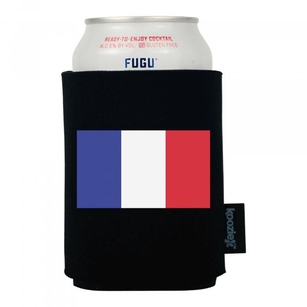 Koozie® France Country Flag Drink Cooler