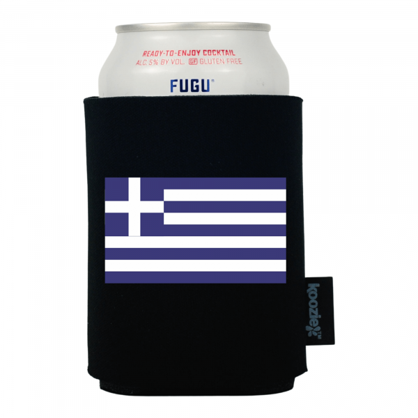 Koozie® Greece Country Flag Drink Cooler