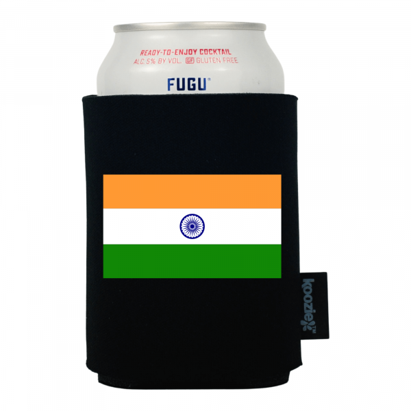 Koozie® India Country Flag Drink Cooler