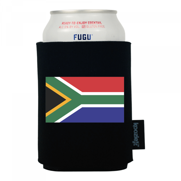 Koozie® South Africa Country Flag Drink Cooler