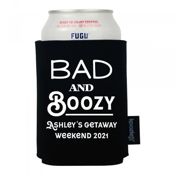 Koozie® Bad and Boozy Drink Cooler