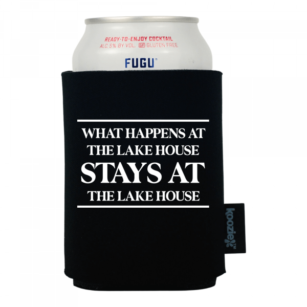 Koozie® What Happens At Stays At Drink Cooler