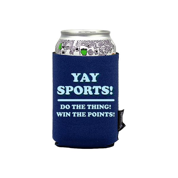 Koozie? Yay Sports Neoprene Can Cooler   1 Side