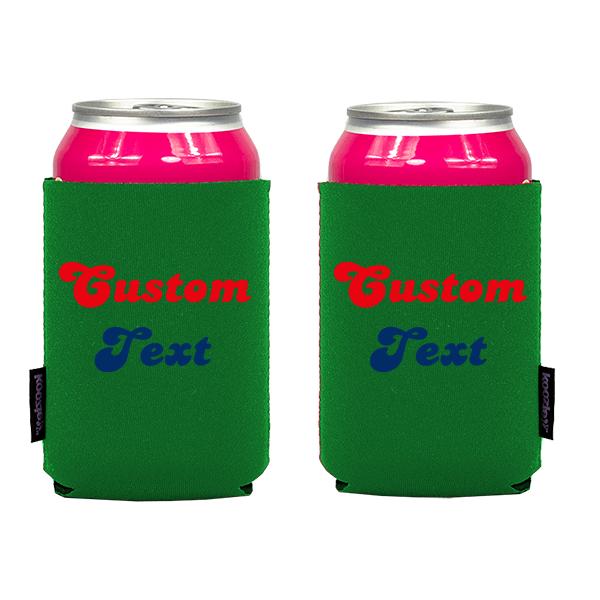 Koozie? Fan Custom Neoprene Can Cooler | 2 Sides