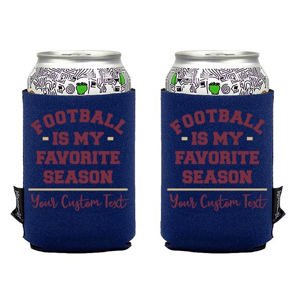 Koozie? Favorite Season Neoprene Can Cooler | 2 Sides