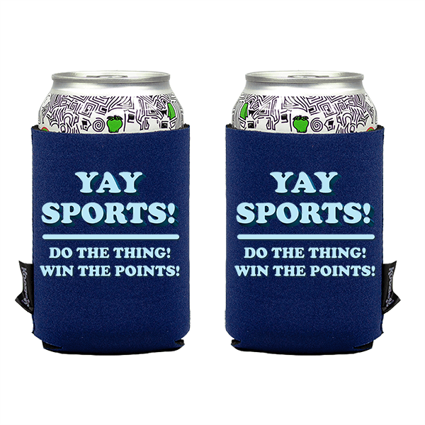 Koozie? Yay Sports Neoprene Can Cooler   2 Sides