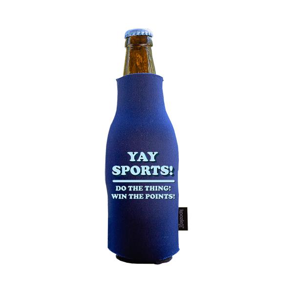 Koozie? Yay Sports Neoprene Zip-Up Bottle Cooler | 1 Side
