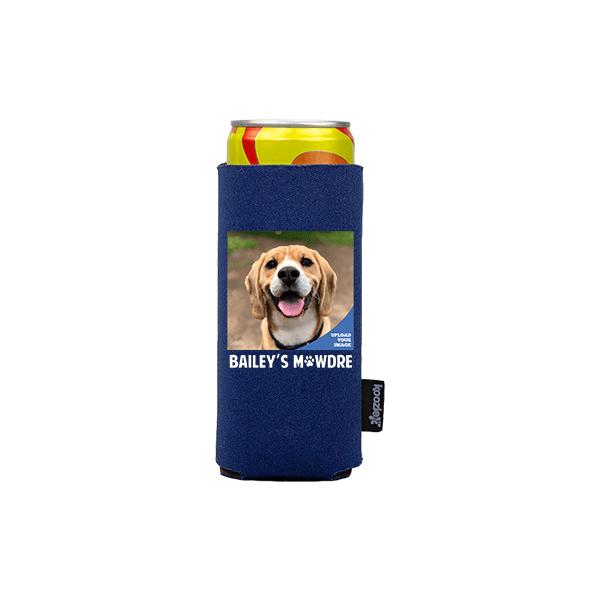 Koozie® Custom Photo Mawdre Slim Can Cooler | 1 Side