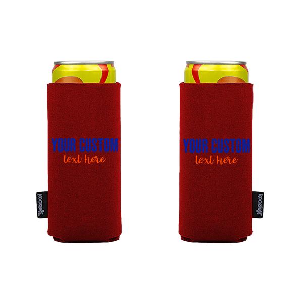Koozie? Sport Custom Slim Can Cooler | 2 Sides
