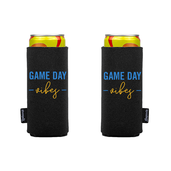 Koozie? Game Day Vibes Slim Can Cooler   2 Sides