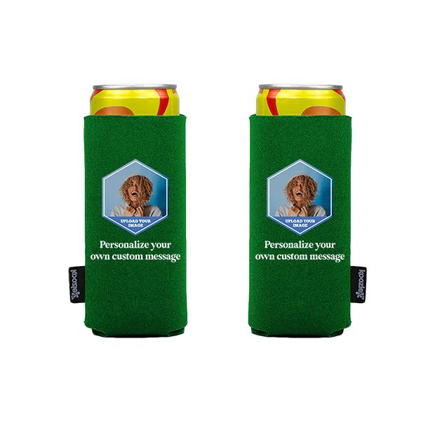 Koozie® Custom Photo Polygon Slim Can Cooler | 2 Sides