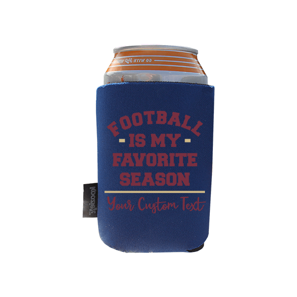 Koozie? Favorite Season Foam Zip-Up Bottle Cooler