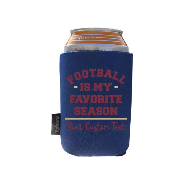 Koozie? Favorite Season Neoprene Zip-Up Bottle Cooler