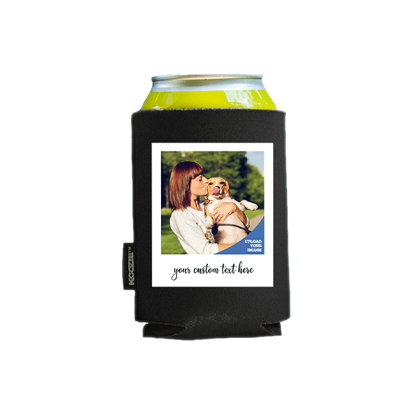 Koozie® Custom Photo Polaroid Foam Can Cooler  1 Side