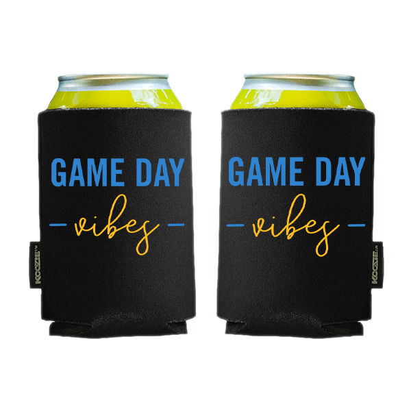 Koozie? Game Day Vibes Foam Can Cooler | 2 Sides