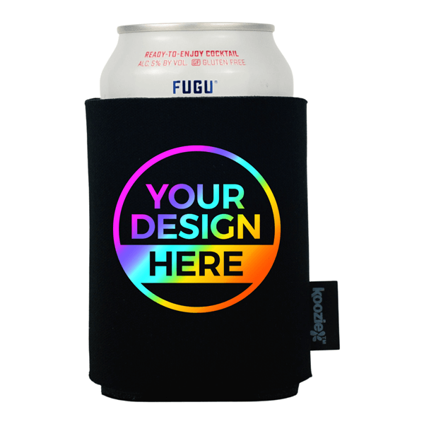 Full Color Koozie® Single Sided Foam Can Cooler