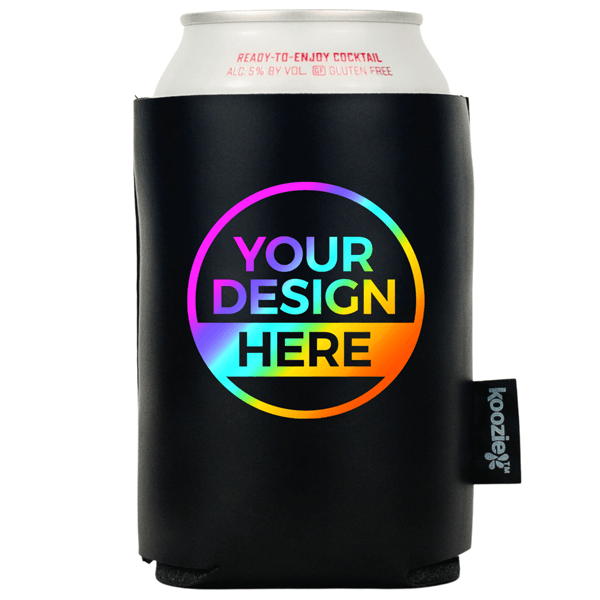 Full Color Koozie® Vegan 2-sided Leather Can Cooler