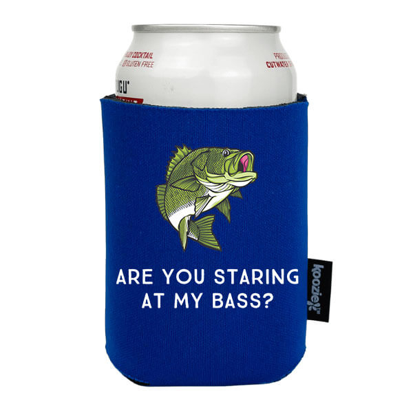 Koozie® Are You Staring at my Bass? Drink Cooler