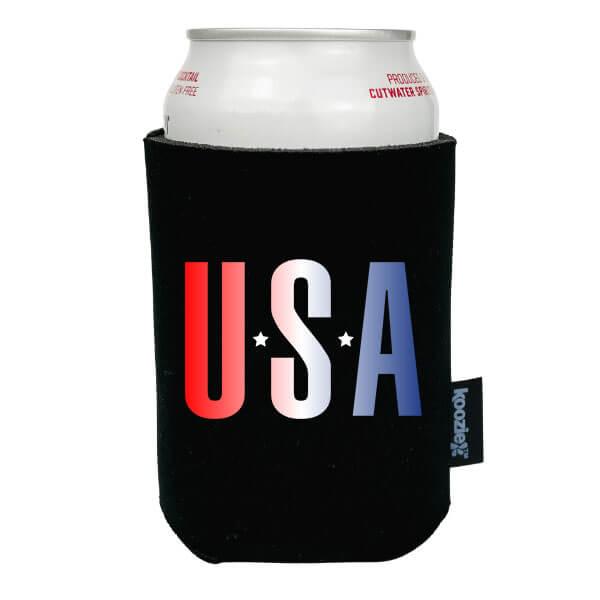 Koozie® USA Gradient Patriotic Drink Cooler