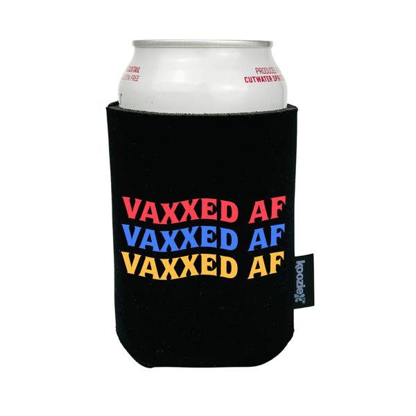 Koozie® Vaxxed AF Full Color Drink Cooler