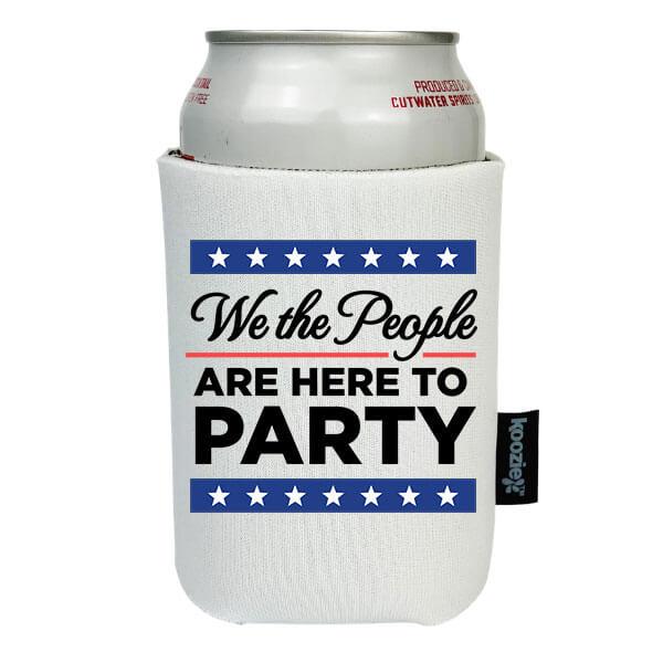 Koozie® We the People Patriotic Drink Cooler
