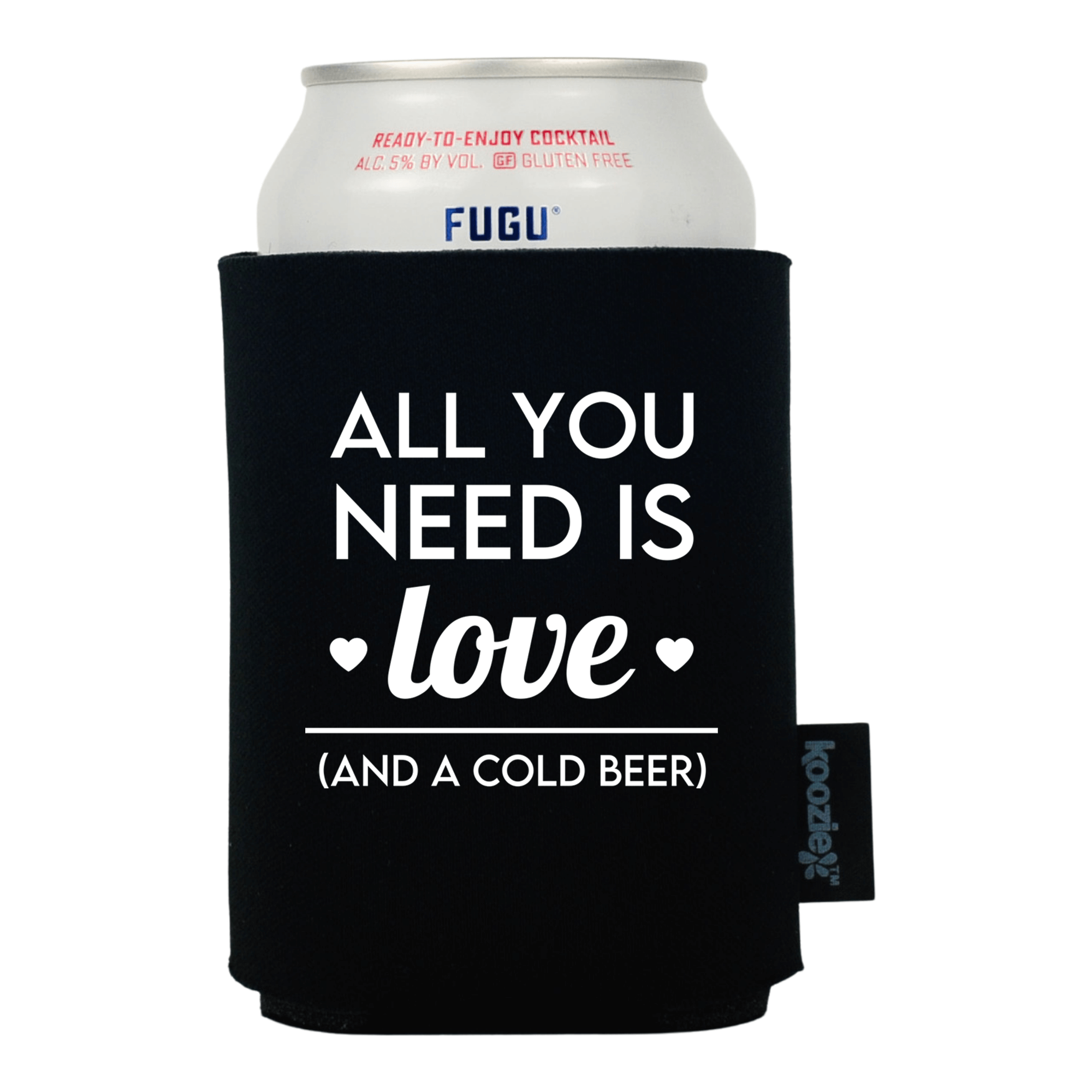 Koozie® All You Need is Love Anniversary Drink Cooler