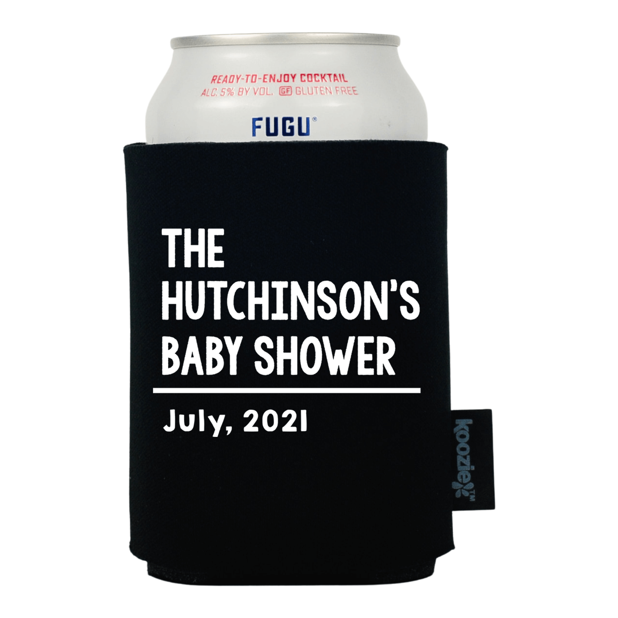Koozie® Traditional Family Baby Shower Drink Cooler