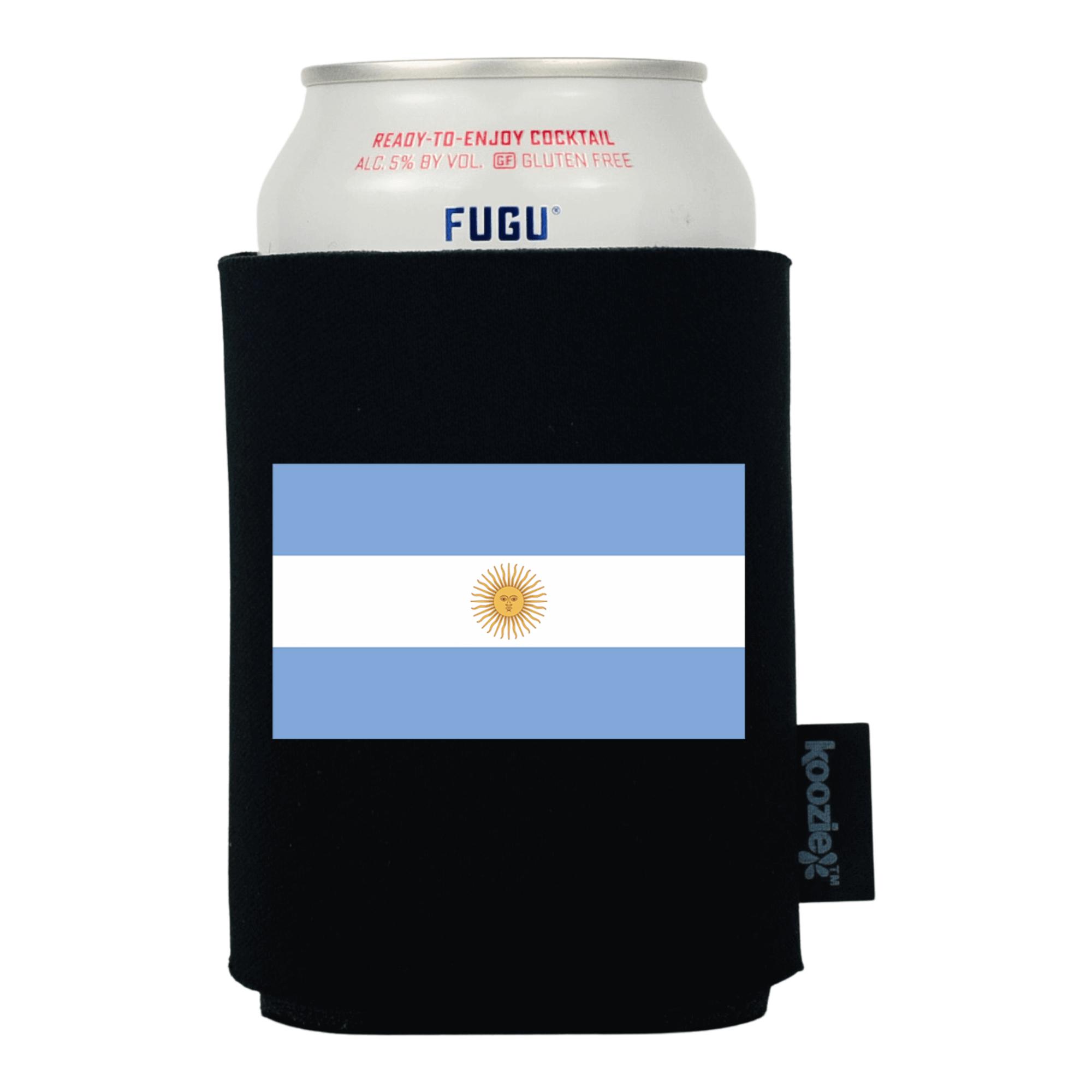 Koozie® Argentina Country Flag Drink Cooler