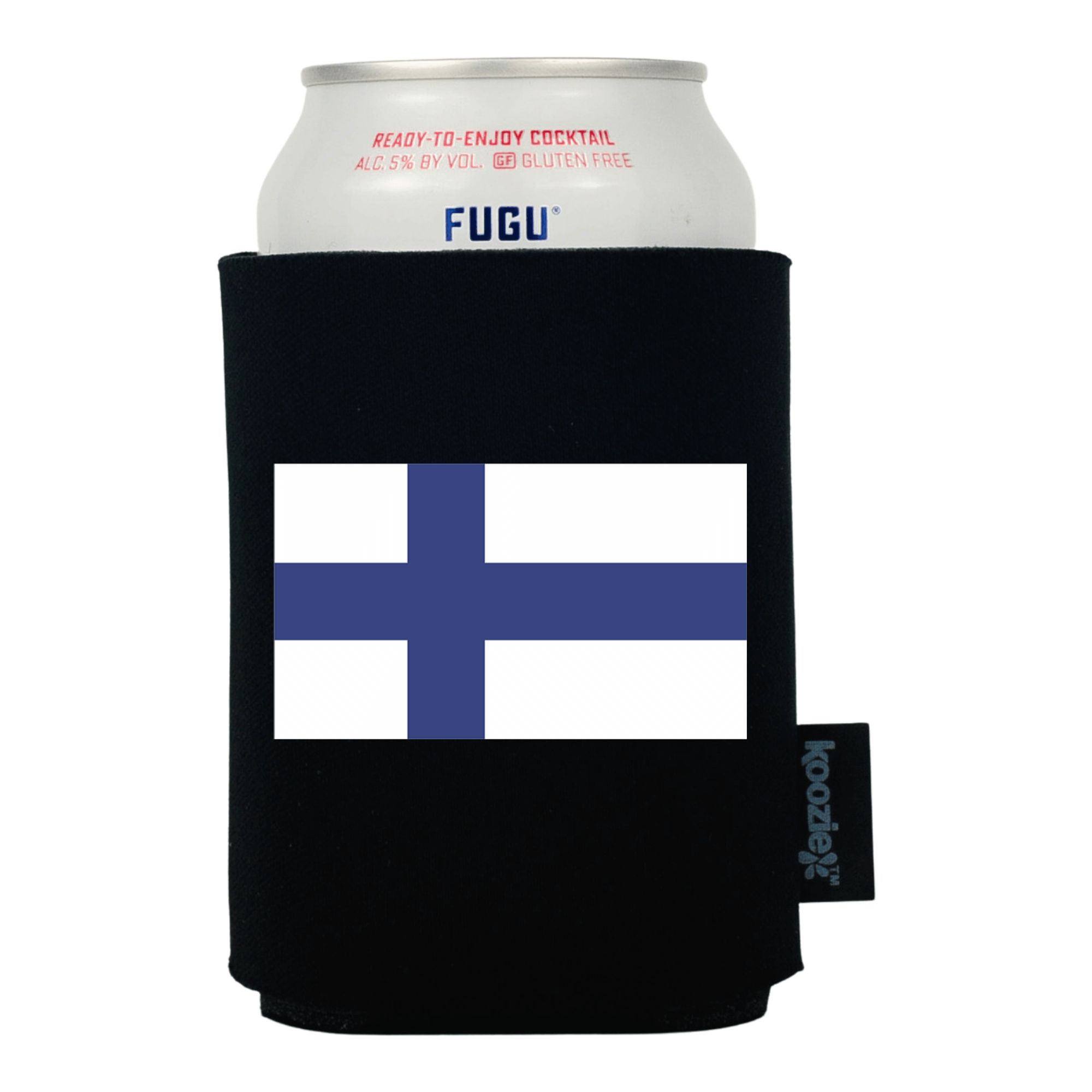 Koozie® Finland Country Flag Drink Cooler