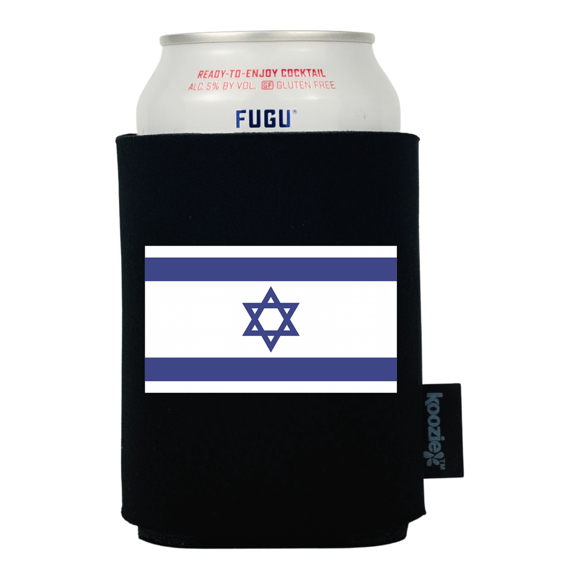 Koozie® Israel Country Flag Drink Cooler