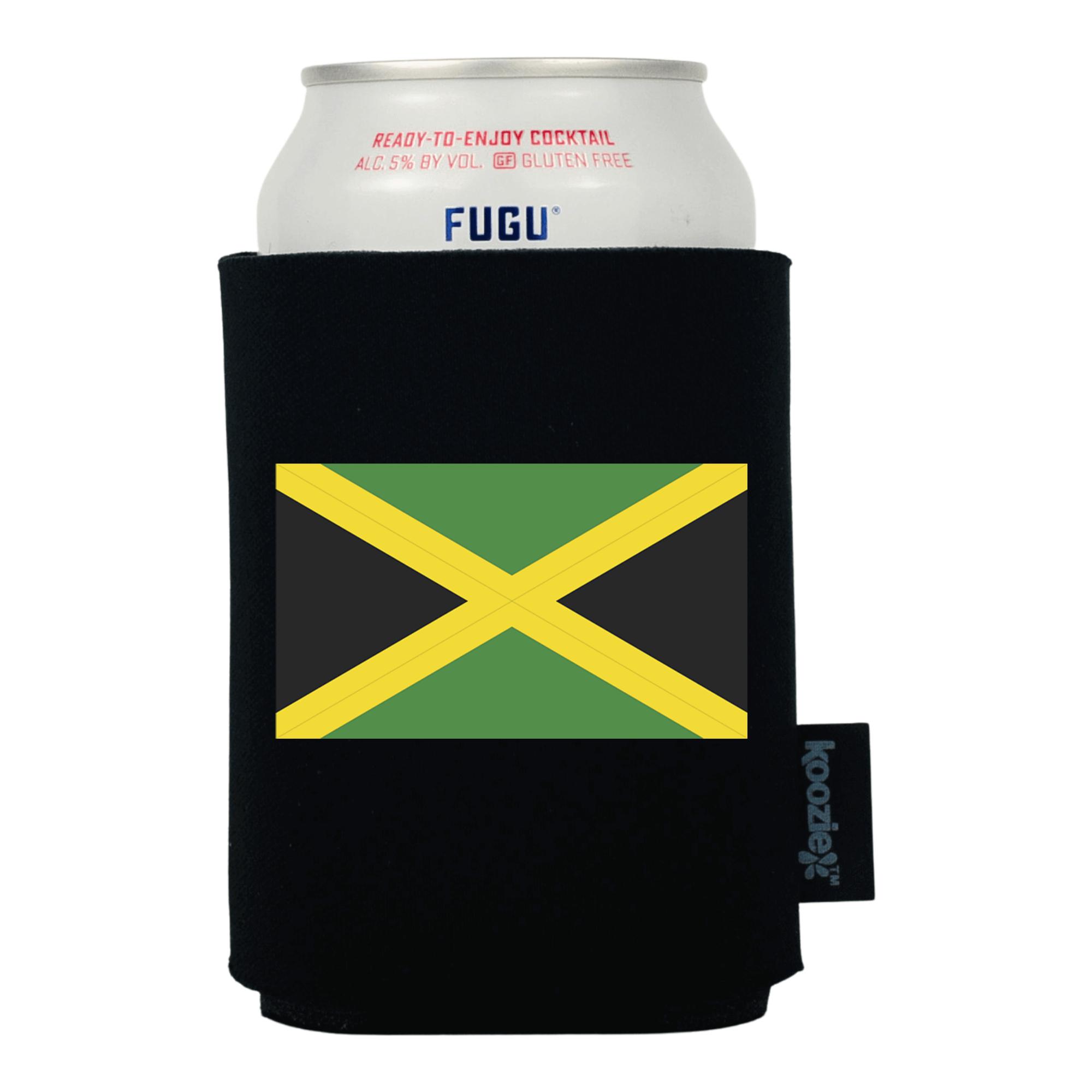 Koozie® Jamaica Country Flag Drink Cooler
