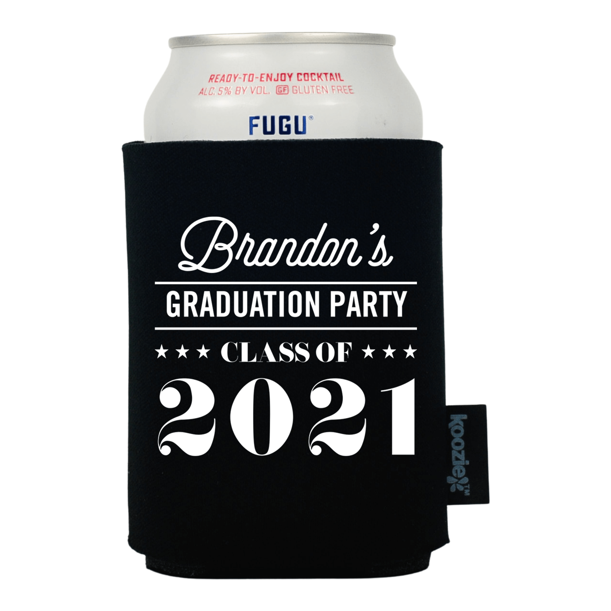 Koozie® Custom Grad Party Graduation Drink Cooler