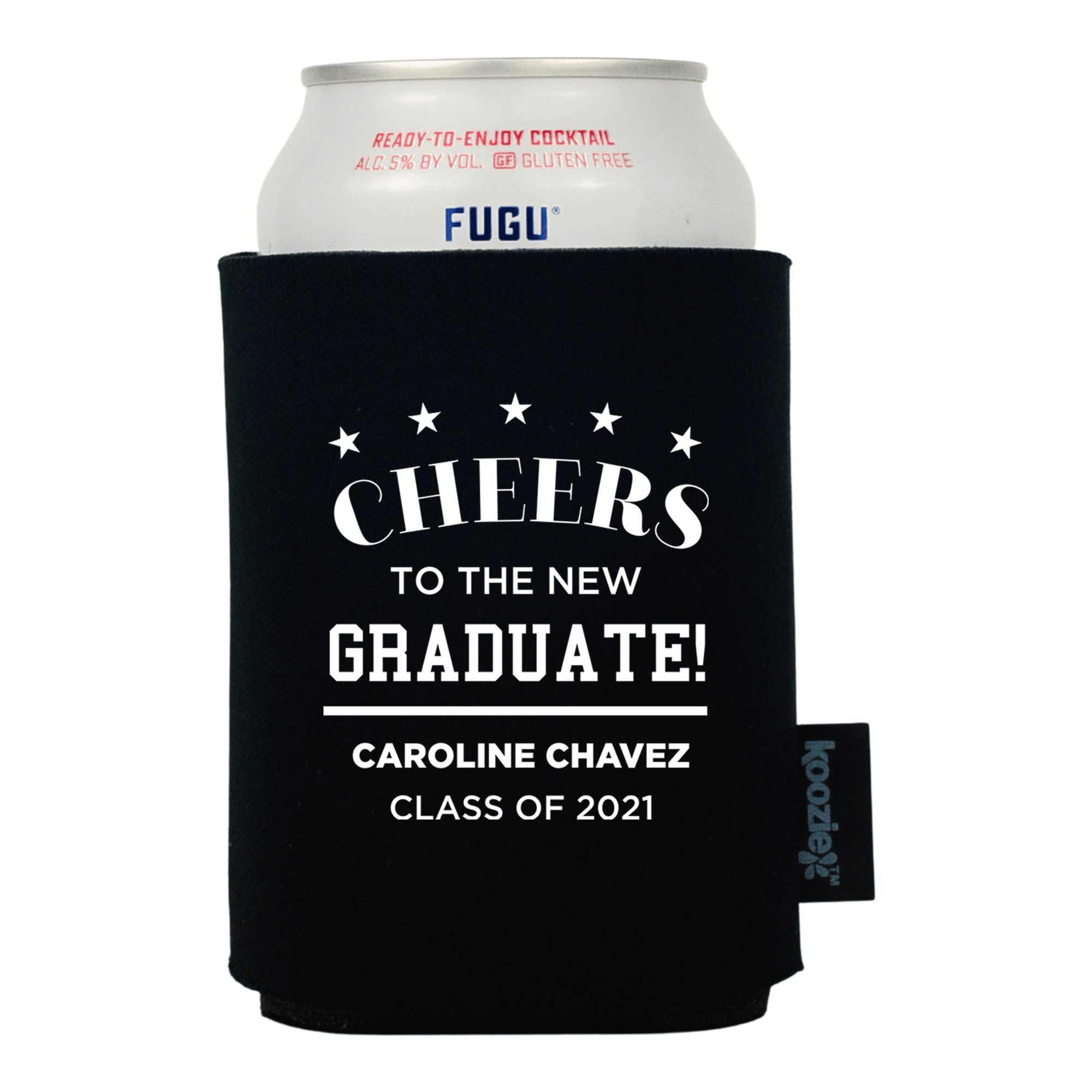Koozie® Cheers to the New Grad Graduation Drink Cooler