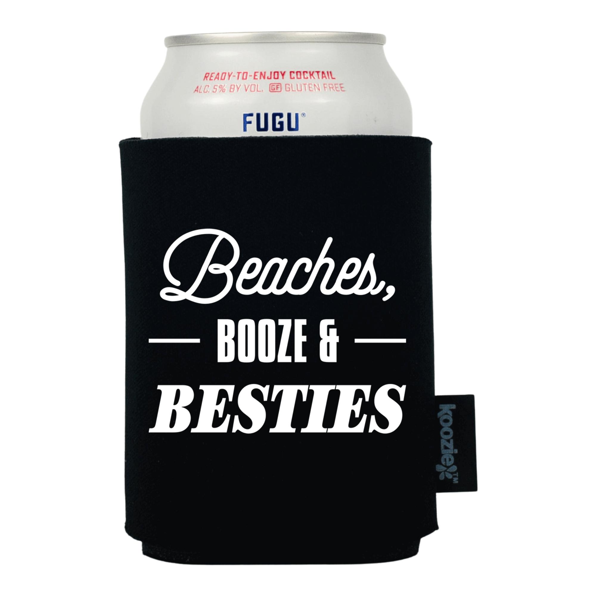 Koozie® Beaches Booze & Besties Drink Cooler