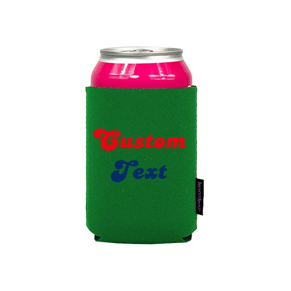 Koozie? Fan Custom Neoprene Can Cooler | 1 Side